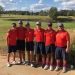 Golf competes in the State Tournament