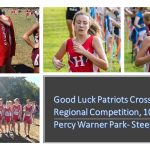 Cross Country competes in regionals today, 10/24