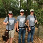 Young Guns participate in the Middle Tennessee Clay Shoot benefiting Second Harvest
