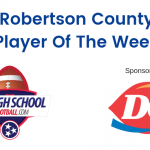HS Football: Vote for Trenton Tuttle for Robertson County Player of the Week 11