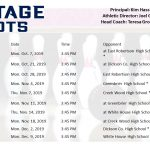 HS Bowling: Schedule posted