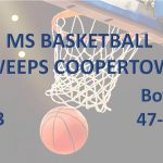 MS Basketball Sweeps Coopertown