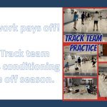 HS Track: Practice pays off!
