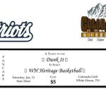HS Basketball to host Pancake Breakfast at Colorado Grill on 1/11/20