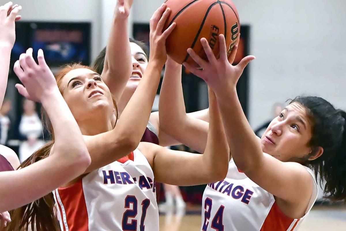 HS Girls Basketball: MSP-Russell scores 19, Lady Patriots dominate East Robertson