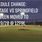 HS Baseball: Scrimmage vs Springfield Date Change