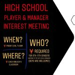 HS Volleyball: Interest Meeting on 2/28/2020