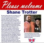 Welcome to Heritage, Mr. Shane Trotter