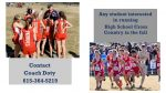 Want to run HS Cross Country this Fall?