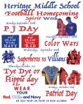MS Homecoming Spirit Week