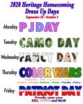 HS Homecoming and Spirit Week