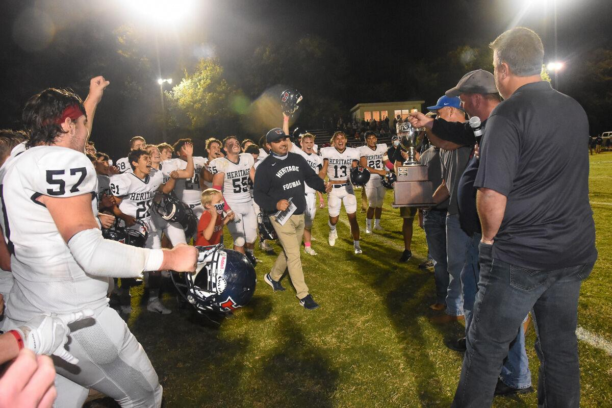 HS Football: Heritage @ White House 10/9/2020