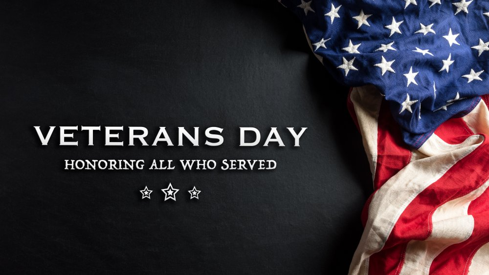 From the home of the Patriots, Thank you Veterans