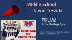 MS Cheer: Tryouts Announced