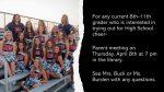 HS Cheer: Parent Meeting set for April 8