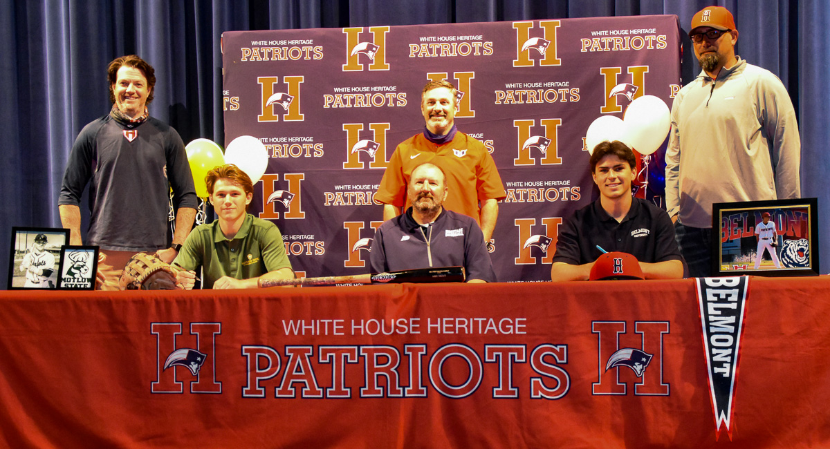 HS Baseball: MSP-WH Heritage's Guisewite, McFarlin sign to play college baseball