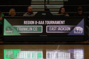 Girls Varsity Bball Region Win 2019