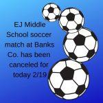 EJ Middle Soccer