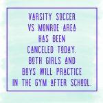 Soccer update for 2/19