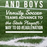 Soccer teams to playoffs