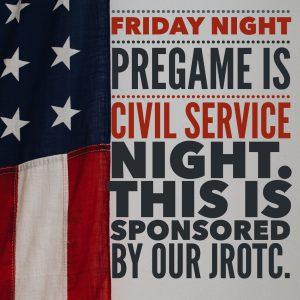 Civil Service night