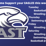 Come support your eagles!