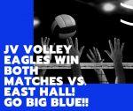 JV volley 8/20/20 wins