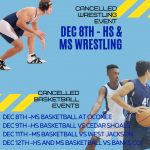 cancelled sport events