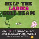 Buy a shirt from the golf team