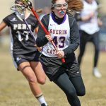 Guerin Catholic Women's LAX Squads Battle Penn