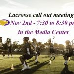 Boys Lacrosse Call Out meeting