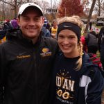 Megan Slamkowski Competes in Mid-East Cross Country Championship