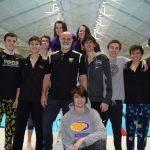 Guerin Catholic Girls Swimming Takes 2nd at 14-Team Brebeuf Invite