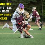 Senior Day – May 6th – Saturday at Noon – LAST Home game