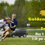 Golden Eagles will be playing against 2016 State Champions, May 9th at 7:30pm @ Cathedral