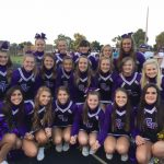 Guerin Catholic Cheerleaders at Broad Ripple