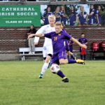 Guerin Catholic High School Boys Varsity Soccer ties Cathedral High School 2-2