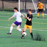 Guerin Catholic High School Boys Varsity Soccer beat Avon High School 3-1