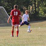 Guerin Catholic High School Boys Varsity Soccer ties Munster High School 2-2