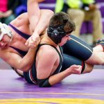 Guerin Catholic High School Coed Varsity Wrestling falls to Indian Creek High School 58-18