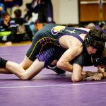 Guerin Catholic High School Wrestling falls to Brownsburg High School 74-3