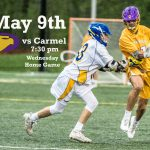 Golden Eagles back into action on May 9 (Weds) against Carmel at home – 7:30 pm