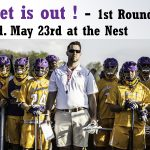 State Tournament – 1st Round on May 23rd against Bishop Chatard at the Nest