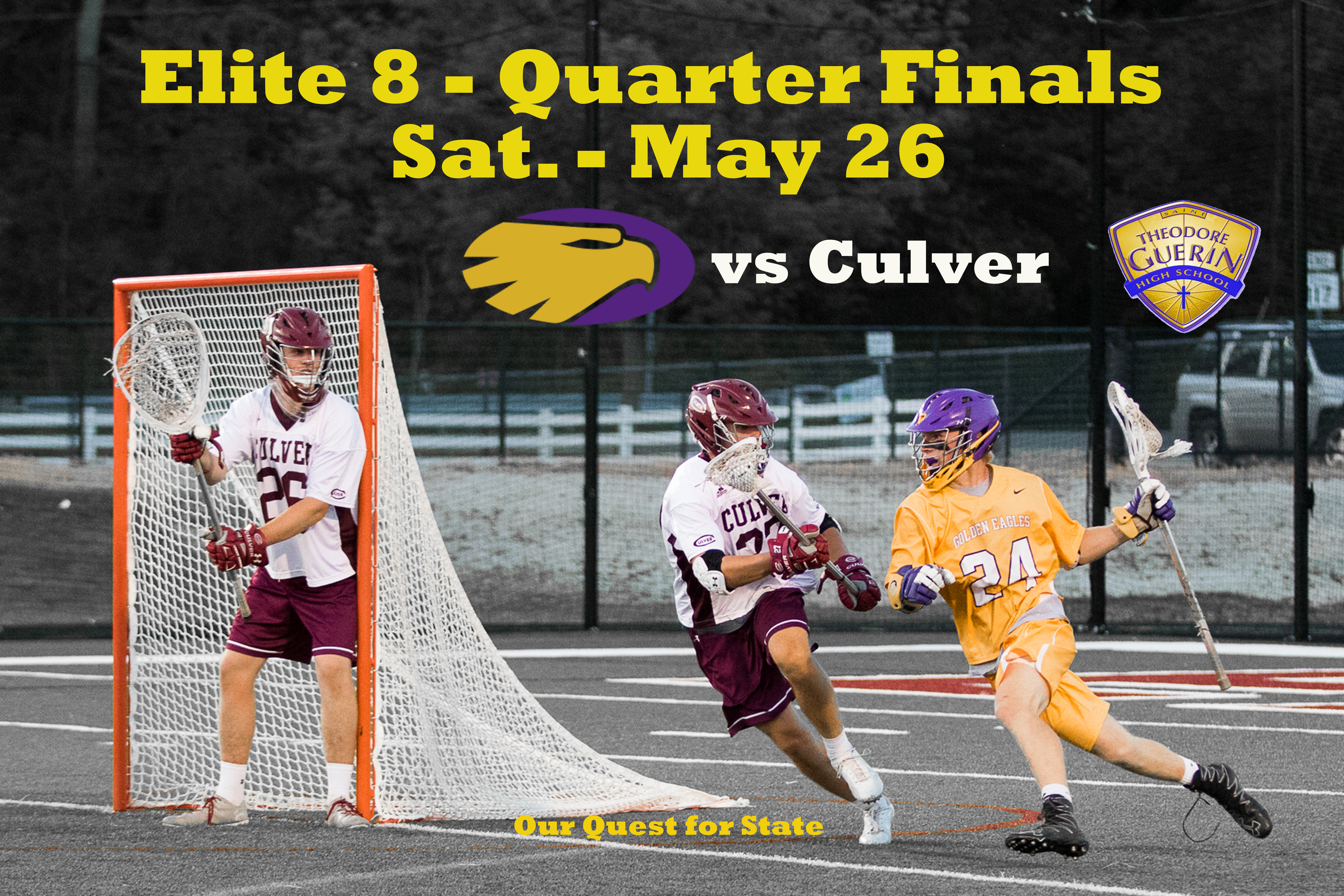 Golden Eagles to advance to the IHSLA Elite 8 this Sat. – May 26th vs Culver Military Academy
