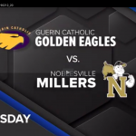 Guerin Catholic vs. Noblesville boys basketball broadcast on WHMB TV-40