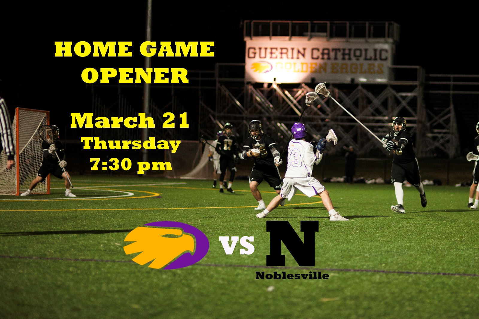 Home Game Opener – March 21st (Thurs.) vs Noblesville Millers