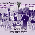 April 20th – Homecoming Game – GC vs Heritage at Noon