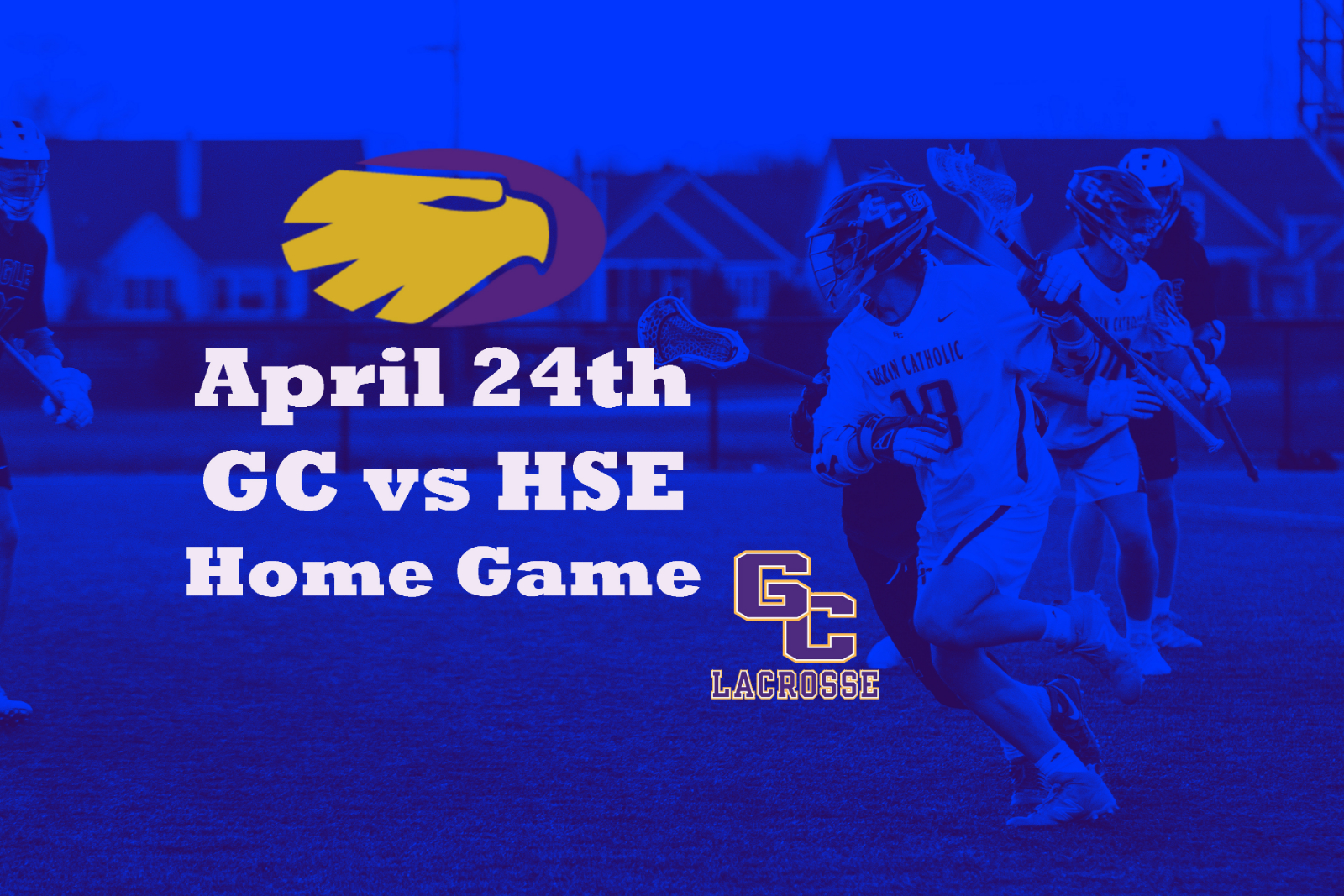 GC vs defending State HSE on April 24th (Wed)