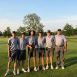 Guerin Catholic boys varsity golf captures championship at the Franklin Central Invitational at Smock Golf Course
