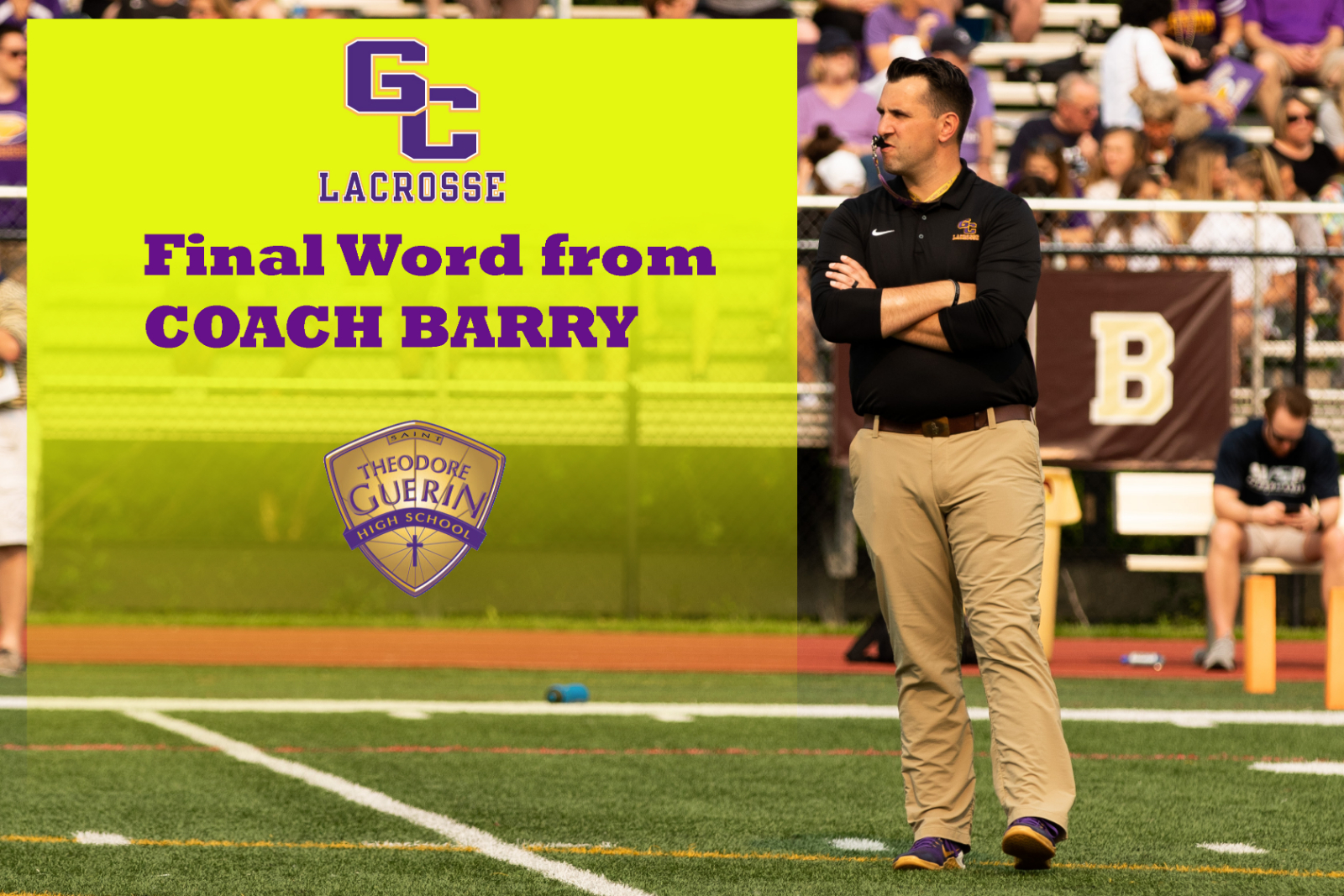 A Final Word from Coach Barry